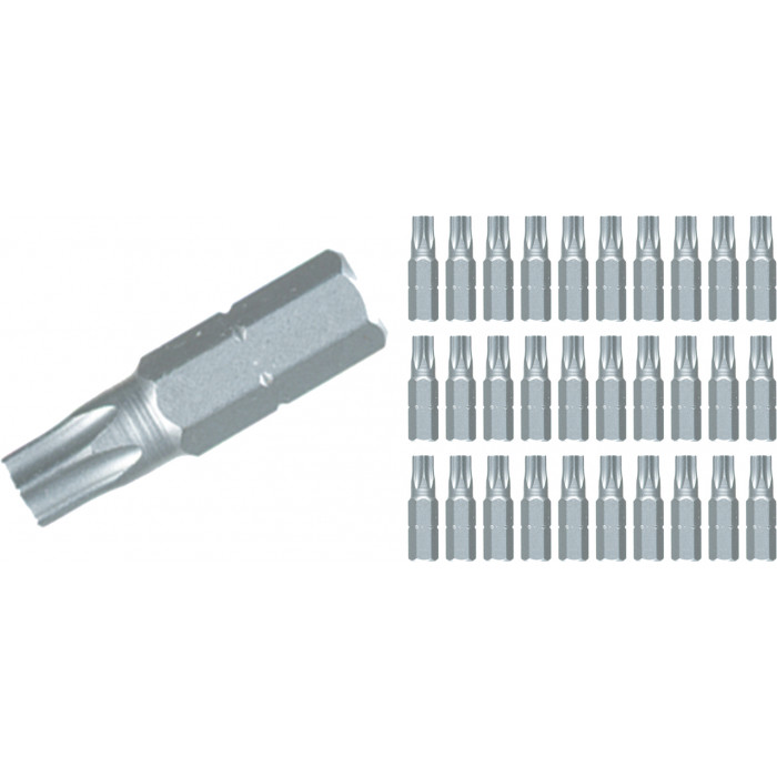 Torx® Contractor Insert Bit T7 Bulk Pack of 30 Bits