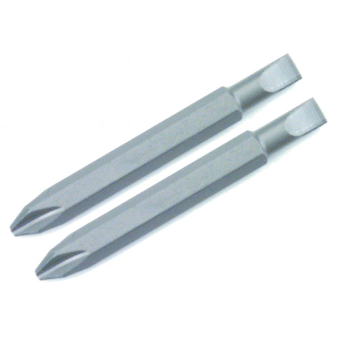 Slotted and Phillips Double End Bit 2 Pack