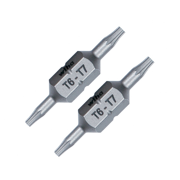 T6 and T7 Torx® Double End Ultra Pack of 2 Bits