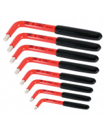 Insulated Inch Hex L-Key 8 Piece Set