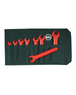 Insulated Open End Wrench 8 Piece Metric Set