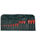 Insulated Open End Wrench 14 Piece Inch Set