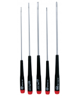 Precision Long Slotted/Phillips Screwdrivers 5 Piece Set