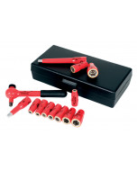 """Insulated 1/4"""" Drive Socket 13 Piece Inch Set"""