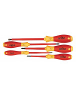 Insulated Slotted/Phillips Screwdrivers 5 Piece Set
