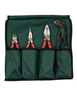 Soft Grip Pliers/Cutters 4 Piece Set