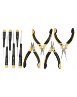 ESD Safe Precision Pliers/Cutters/Screwdrivers 11 Piece Set