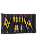 11 Piece ESD Safe PicoFinish® Precision Screwdrivers and Pliers Set with Heavy Duty Velcro Pouch