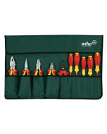 Insulated Pliers/Slotted/Phillips/Square Screwdrivers 10 Piece Set