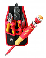 Insulated Chrome Finish Pliers Cutters and Pop-Up Set