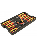 Insulated Pliers/Cutters Tray 9 Piece Set