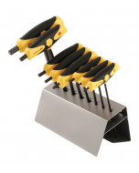 8 Piece Soft Grip Dual Drive Hex T-Handle Set - SAE