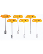 T-Handle Nut Driver Inch 6 Piece Set