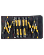 26 Piece ESD Safe PicoFinish® Screwdrivers Pliers and Bits Set with Heavy Duty Velcro Pouch