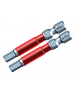 Hex Metric Terminator Impact Power Bit 2 Pack