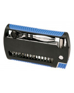 XLSelector Bit Set with Ratchet and  Slotted, Phillips, Square, Pozidriv, Hex Metric bits