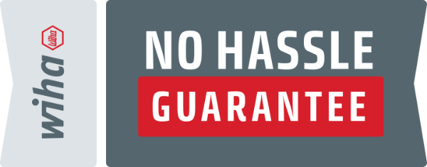 Wiha No Hassle Guarantee